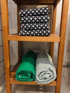 Badrum handdukar